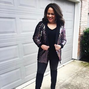NWT - Anthropologie Sequin Jacket